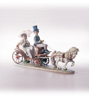 Lladro-Through The Park 1997-02