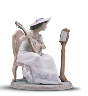 Lladro-Sweet Song 1997-01