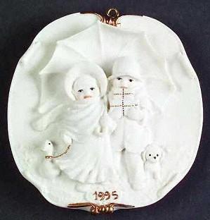 Giuseppe Armani-Armani 1995 Christmas Ornament