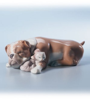 Retired Lladro-Unlikely Friends