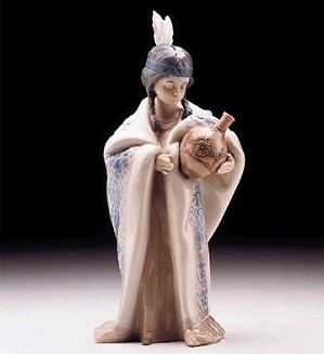 Lladro-Ceremonial Princess 1997-00