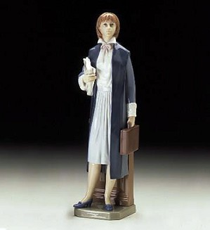 Lladro-Female Lawyer 1997-00