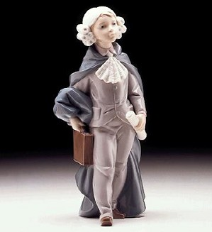 Lladro-Little Lawyer 1997-99