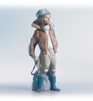 Lladro-Little Aviator 1996-02