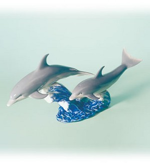 Lladro-Dance Of The Dolphins 1997-02