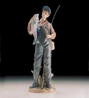 Lladro-A Prize Catch 1998-00