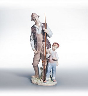 Lladro-A Father's Pride 1998-02