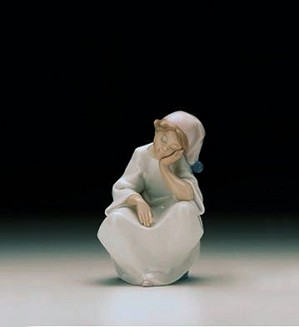 Lladro-Just Resting 1997-00 ***