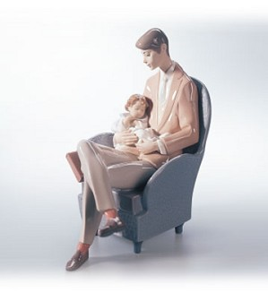 Retired Lladro-Daddy's Blessing