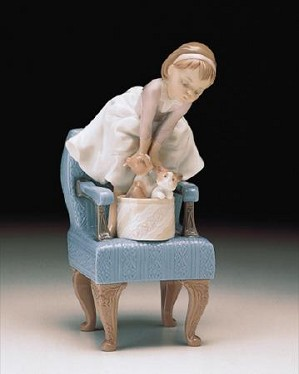 Lladro-Purr-Fect Friends 1998 Event