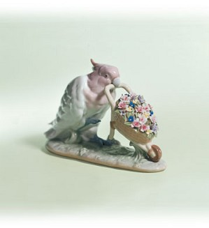 Retired Lladro-How Skillful!
