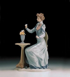 Lladro-A Lovely Thought 1998-00