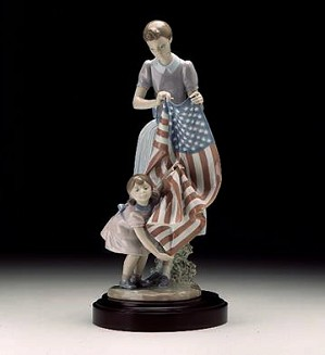 Retired Lladro-Fourth Of July (2000)