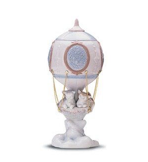 Lladro-Through The Clouds 1998-01