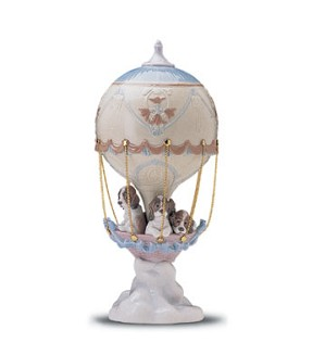Lladro-Up And Away 1998-01