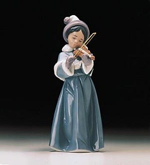 Retired Lladro-The Spirit Of Christmas