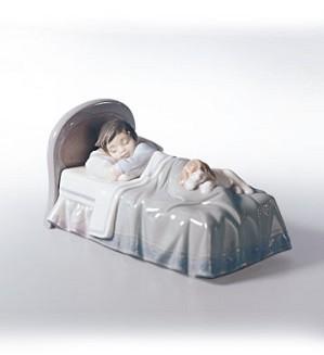 Lladro-Bedtime Buddies