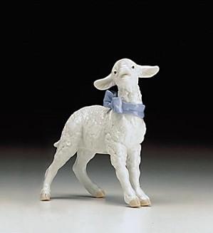 Lladro-Baby Boy Lamb 1998-00