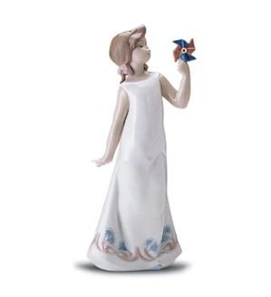 Lladro-Pretty Pinwheel 1998-01