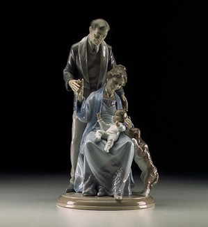 Lladro-Grandparents Joy 1998-2000