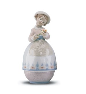 Retired Lladro-Treasures Of The Heart
