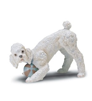 Lladro-Playful Poodle (large) 1998-01
