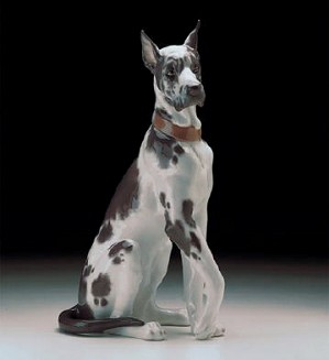 Lladro-Great Dane (large) 1998-00