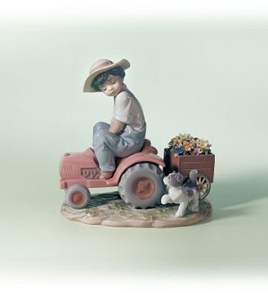 Lladro-A Day's Work 1999-02