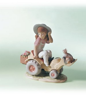 Lladro-Want A Lift? 1999-02