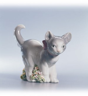 Retired Lladro-Kitten Patrol