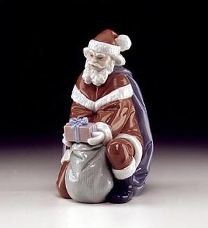 Lladro-A Gift From Santa