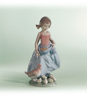 Lladro-Afternoon Work 2000-02