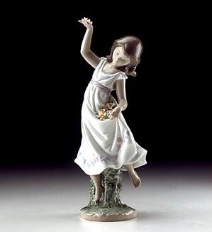 Lladro-Garden Dance 1999 Special Event Figure