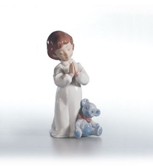 Retired Lladro-Nighttime Blessings