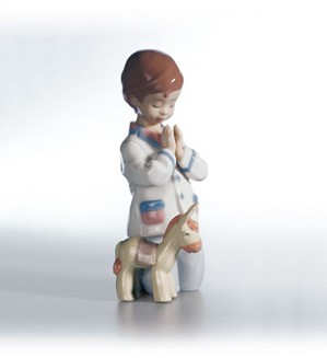 Retired Lladro-Bless Us All 1998-04