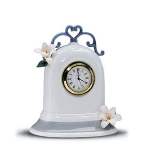 Lladro-Clock (white)