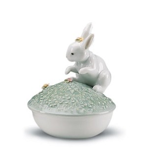 Retired Lladro-Box(garden Bunnies Collection)