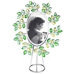 Swarovski-Swarovski Leaves Picture Frame Oval