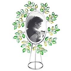 Swarovski-Swarovski Leaves Picture Frame Oval