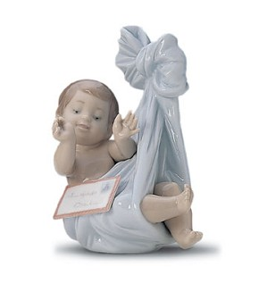 Retired Lladro-Heaven's Gift(boy)