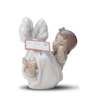 Lladro-Heavens Gift (girl) 1999-01