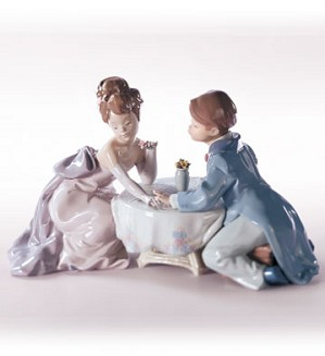 Retired Lladro-A Little Romance
