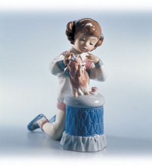 Lladro-My Pretty Puppy 1999-02