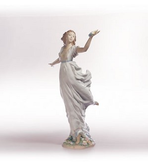 Retired Lladro-Allegory Of Youth
