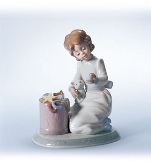 Retired Lladro-Ringing In The Season