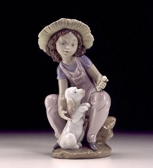 Lladro-Friends Forever 1999