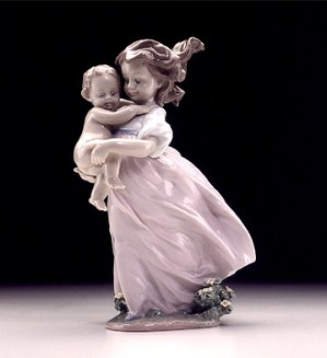 Lladro-Playing Mom 2000 Event