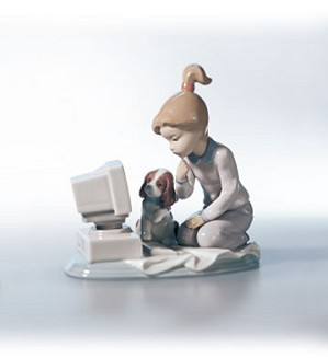 Retired Lladro-Computing Companions