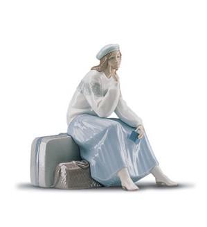 Lladro-Pensive Traveller 2000-01