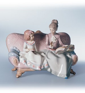Lladro-Embroidery Lesson 2000-02
